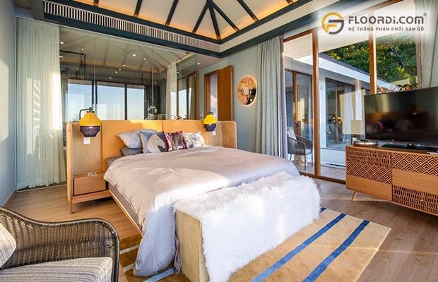 Nội thất trong phòng ngủ cần được sắp xếp gọn gàng