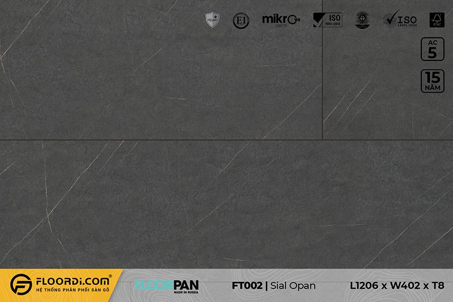 Sàn gỗ vân đá FT002 Stone Sial Opal – 8mm – AC5