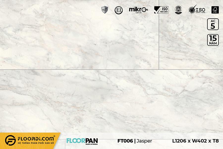 Sàn gỗ vân đá FT006 Stone Jasper – 8mm – AC5