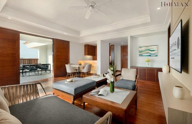 Lắp đặt sàn gỗ tại khách sạn Nha Trang Beach